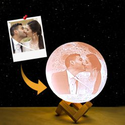 3D Customized Moon lamp night light gift picture-4