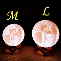 3D Customized Moon lamp night light gift picture-5
