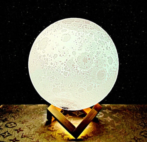 3D Night Moon Lamp