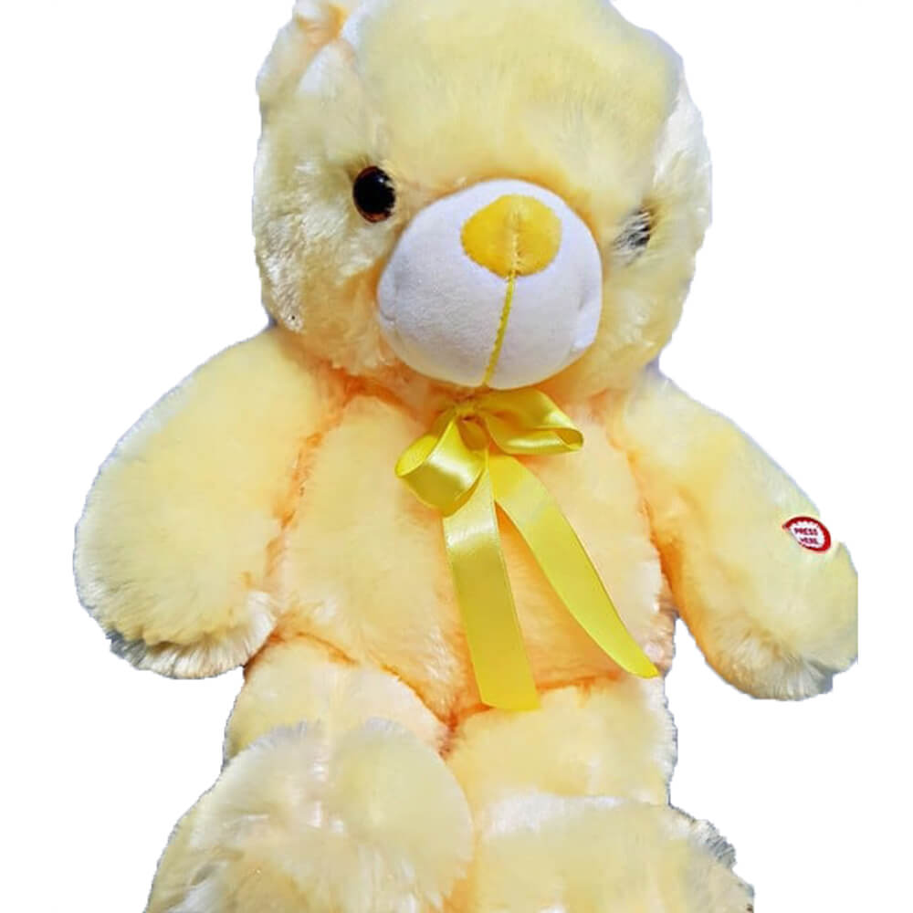 A half-meter yellow bear