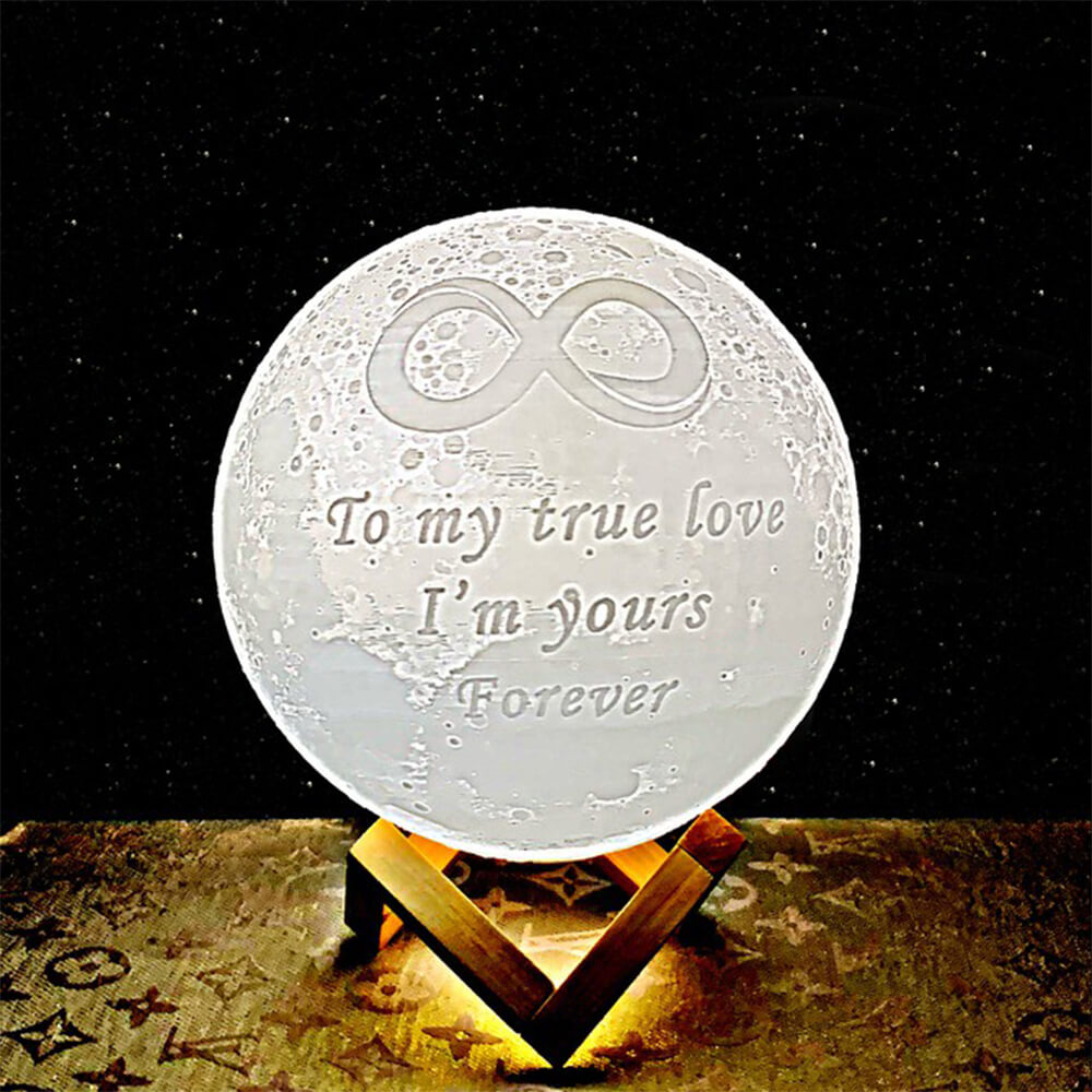 A moon lamp for my true love