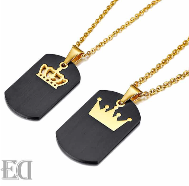 Cutomized Crown Necklace