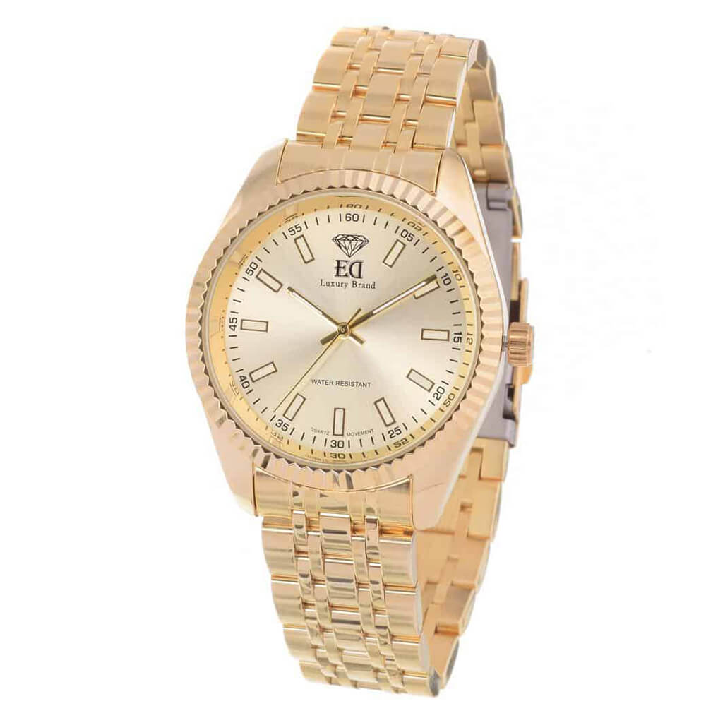 ED gold watch for men