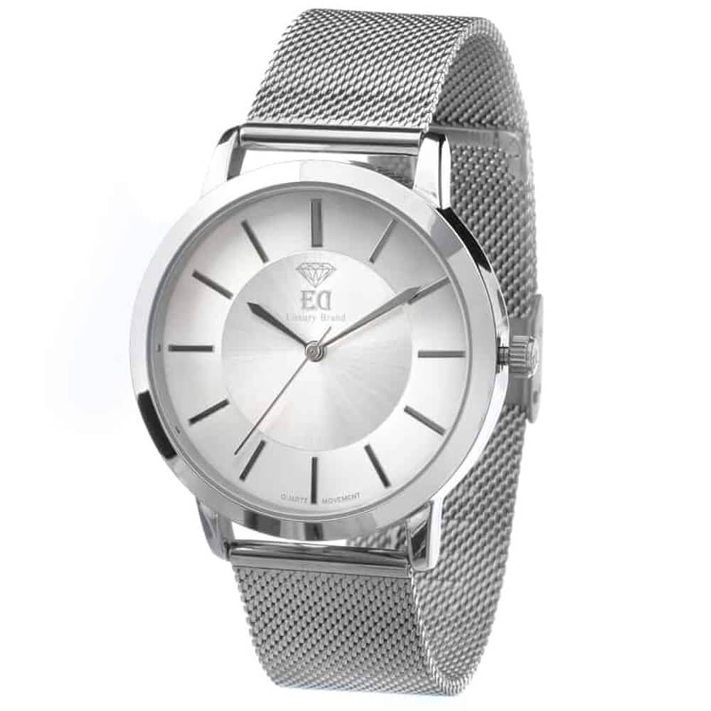ED wristwatch for man silver