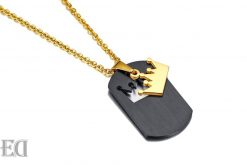 Gifts for men gifts for women king queen crown necklaces-6