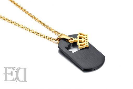 Gifts for men gifts for women king queen crown necklaces-8