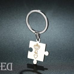 Gifts for men gifts for women king queen silver puzzle-2