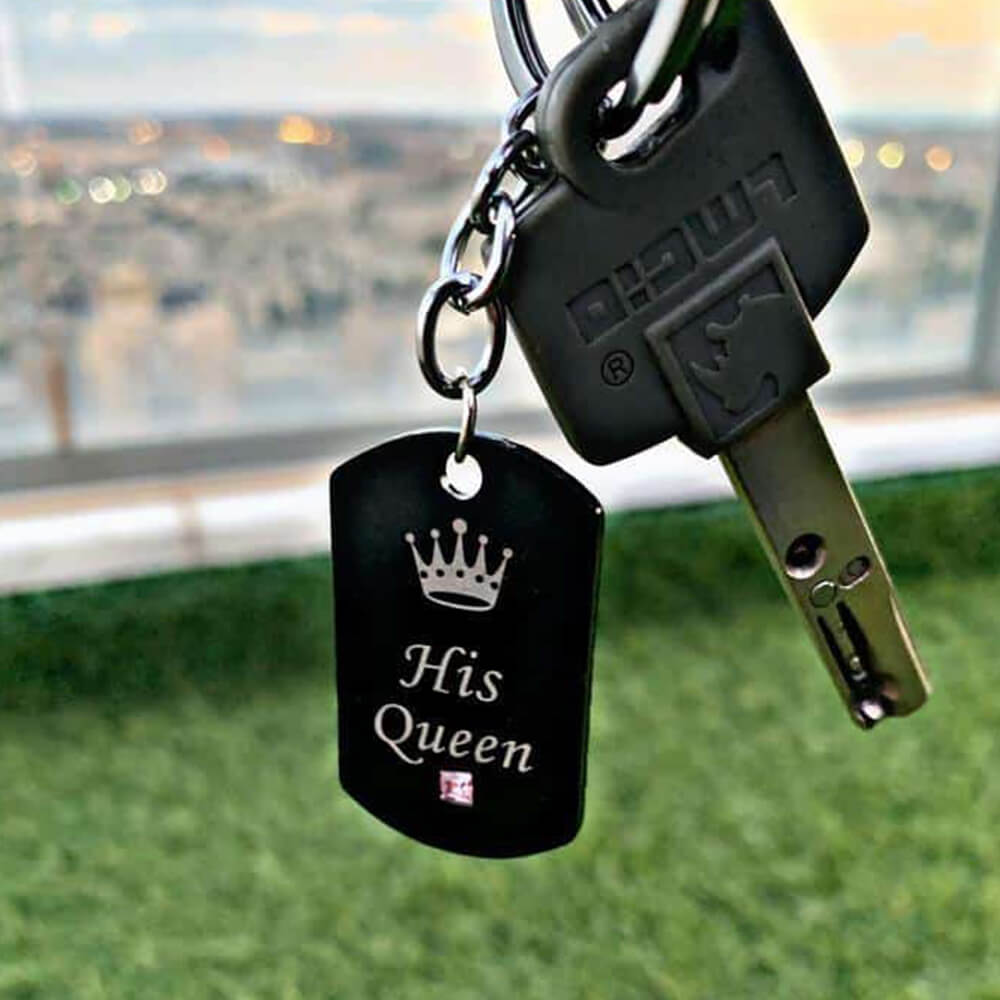 King and Queen keychains