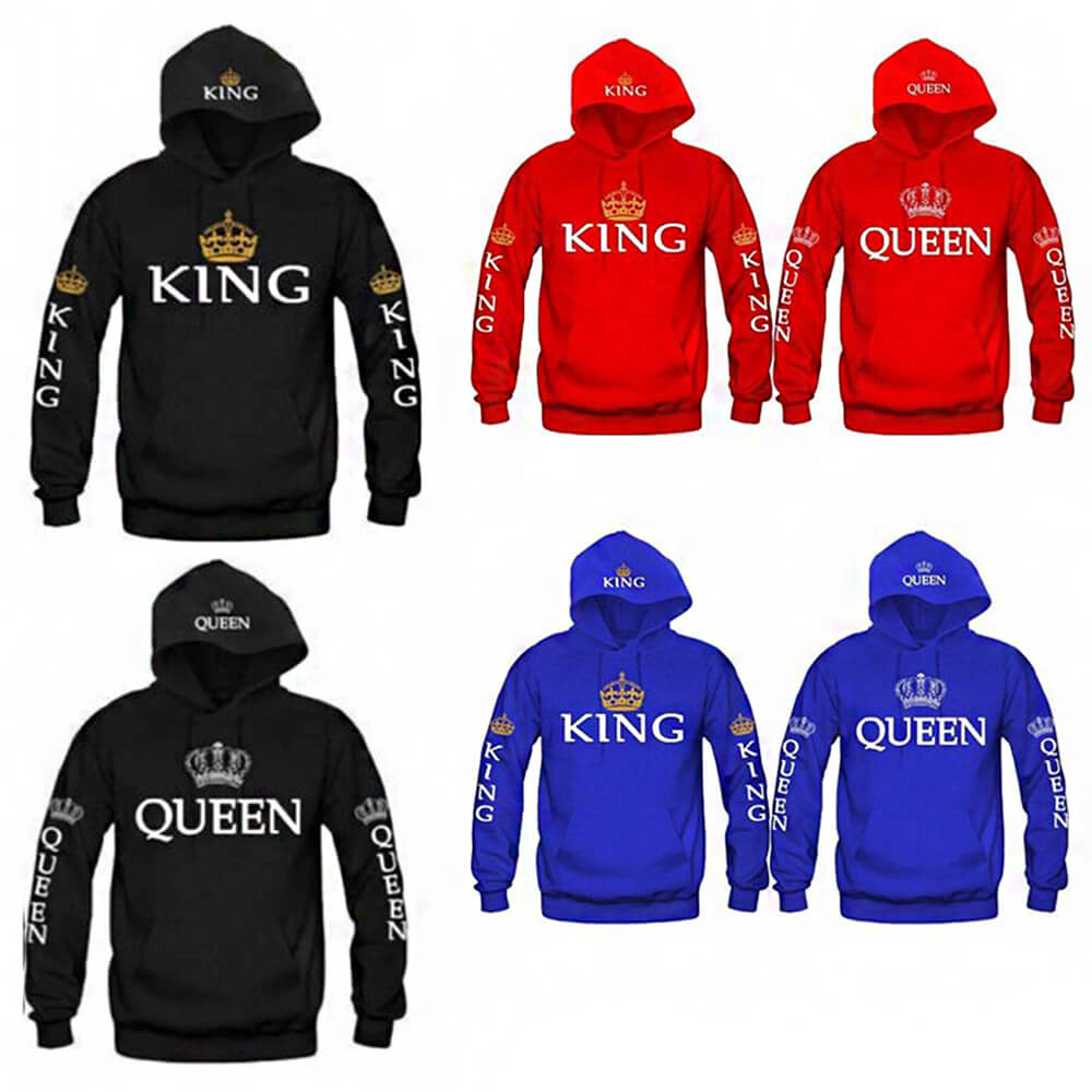 Long hoodies King and Queen