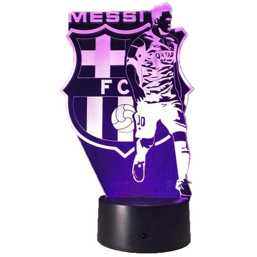 Messi and football night light