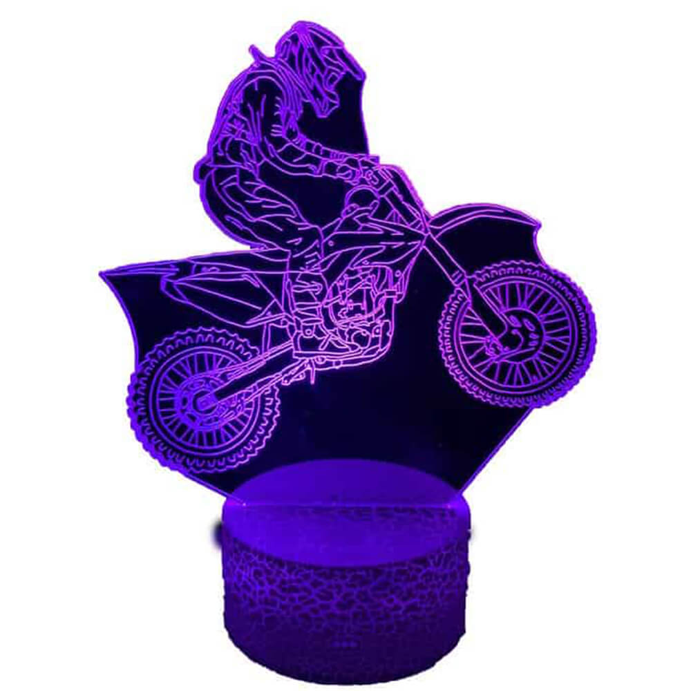 Motorcycle night light