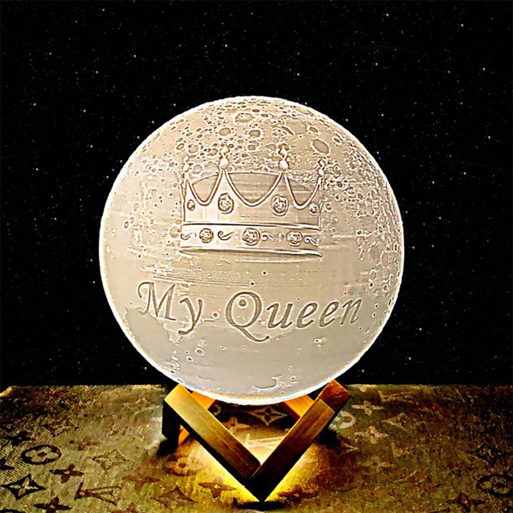 My queen moon lamp