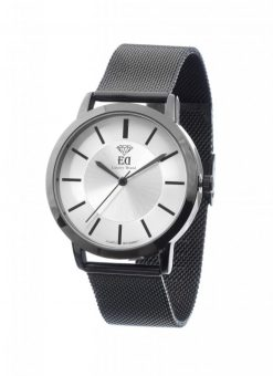 Premium ED men Women Unisex watch black gold silver-1