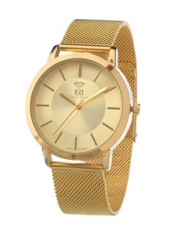 Premium ED men Women Unisex watch black gold silver-10