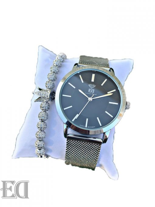 Premium ED watch bracelet bundle set men women watch-2