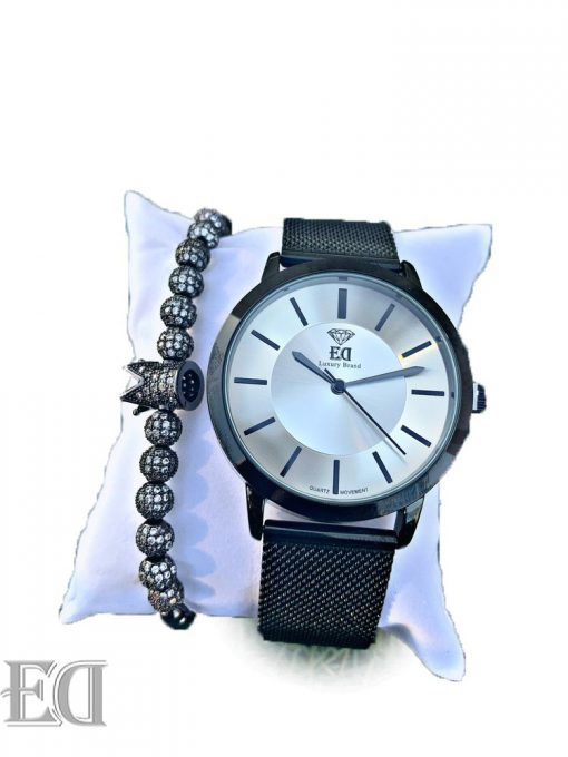 Premium ED watch bracelet bundle set men women watch-5