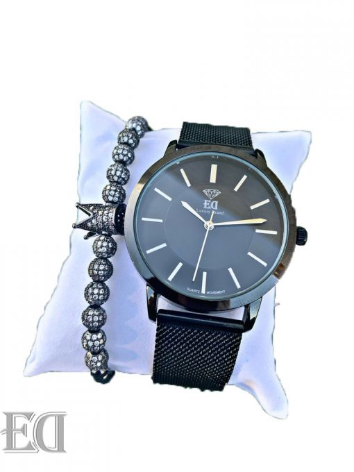 Premium ED watch bracelet bundle set men women watch-7