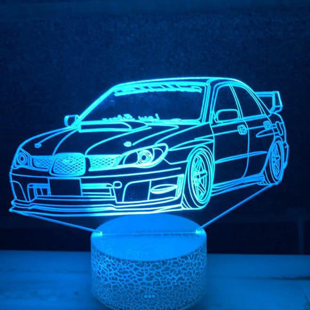 Subaru car night light