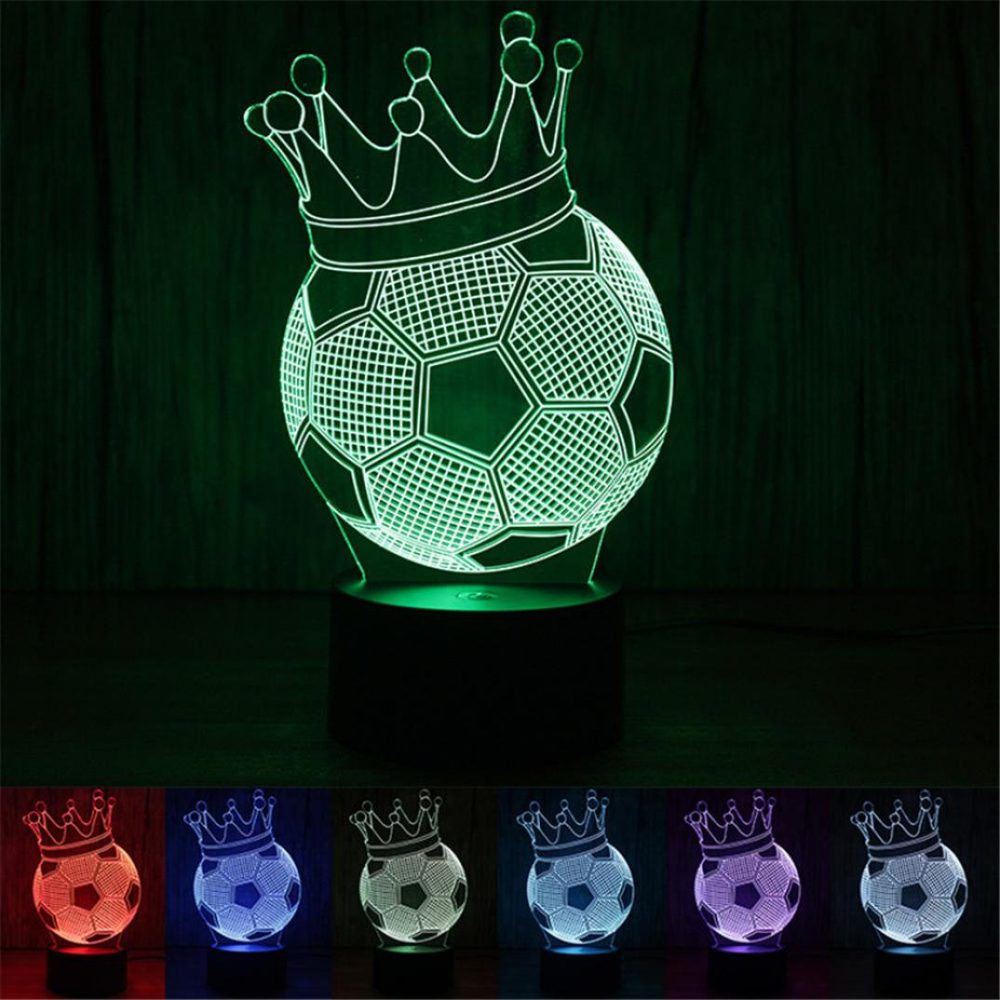 ball and crown night light changing colors-1