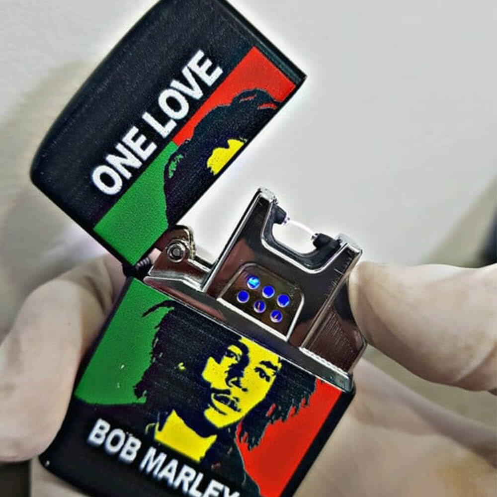 bob marley plasma lighter