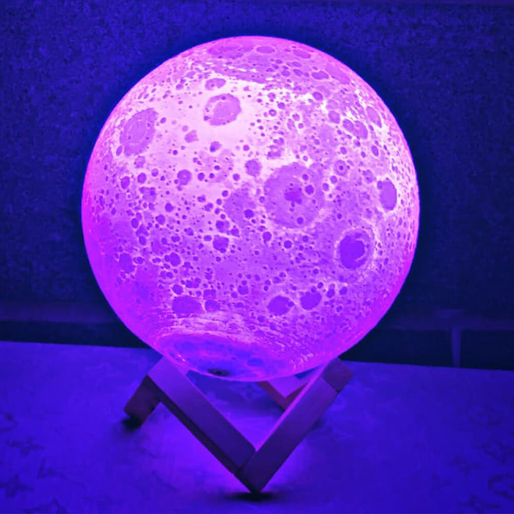 changing colors moon lamp