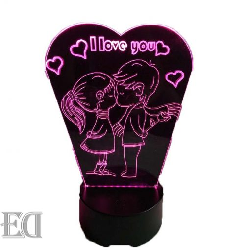 couple angles night lamp gift gadgets