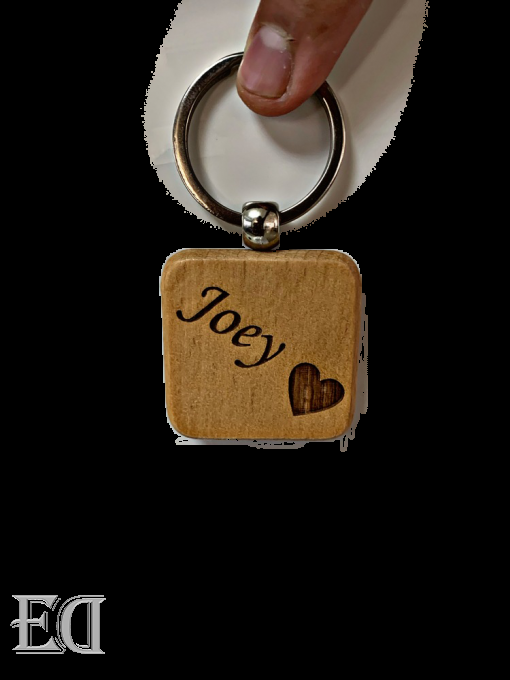 couple gifts engraved customized keychain name