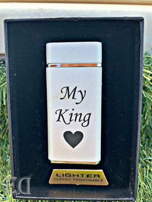 couple gifts engraved customized lighter to my king-2