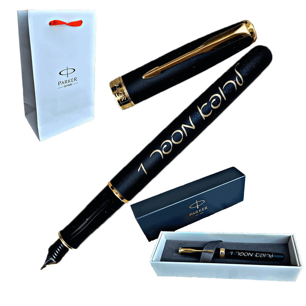 custom engraved parker pen-9