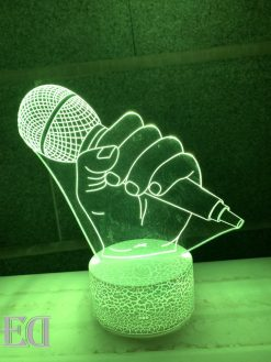 gadget gifts microphone night lamp-1