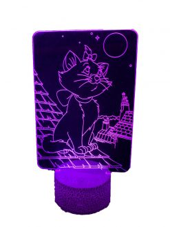 gadgets cat love night lamp-5