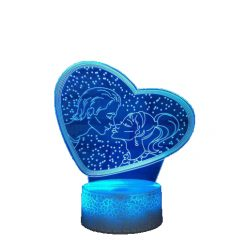 gadgets couple kiss love night lamp