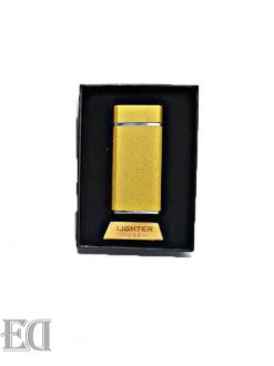 gadgets electric lighter gold