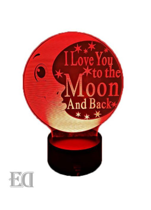 gadgets love you to the moon and back night lamp gift