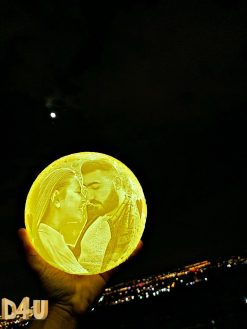 gift customized 3D moon lamp 2