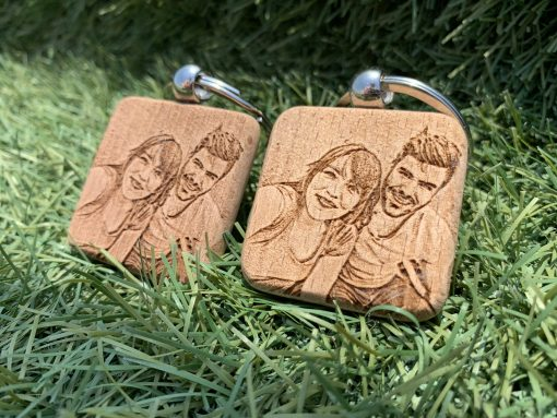 gift personalizes keychains with pictuer 2