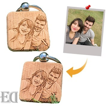 gift personalizes keychains with picture