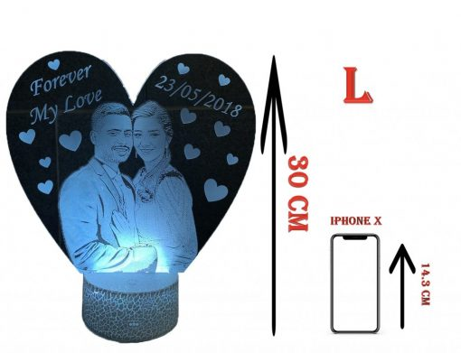 gifts night lamp size