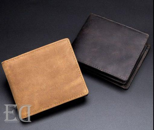 gifts personalized self customized men leather wallet-1