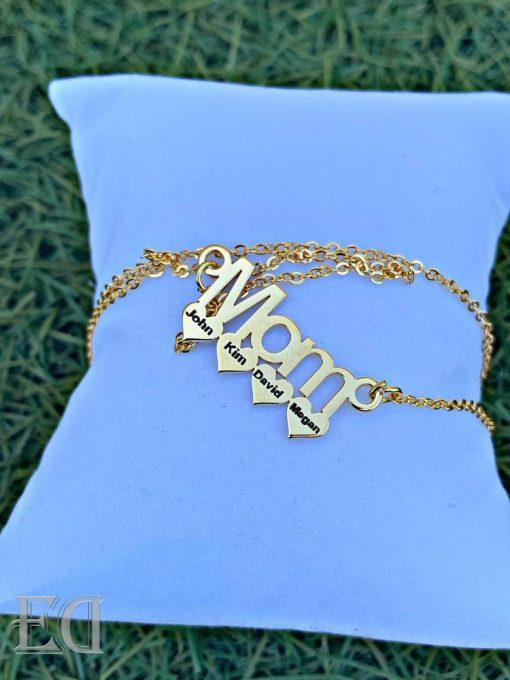 gold mom necklace gift customized personalized gifts-1