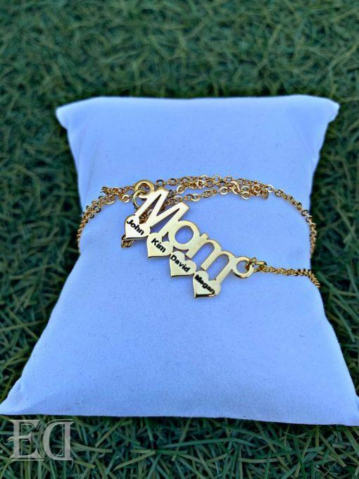 gold mom necklace gift customized personalized gifts-2