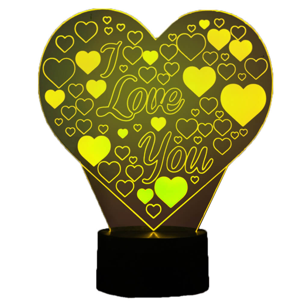 i love you night light changing colors-1
