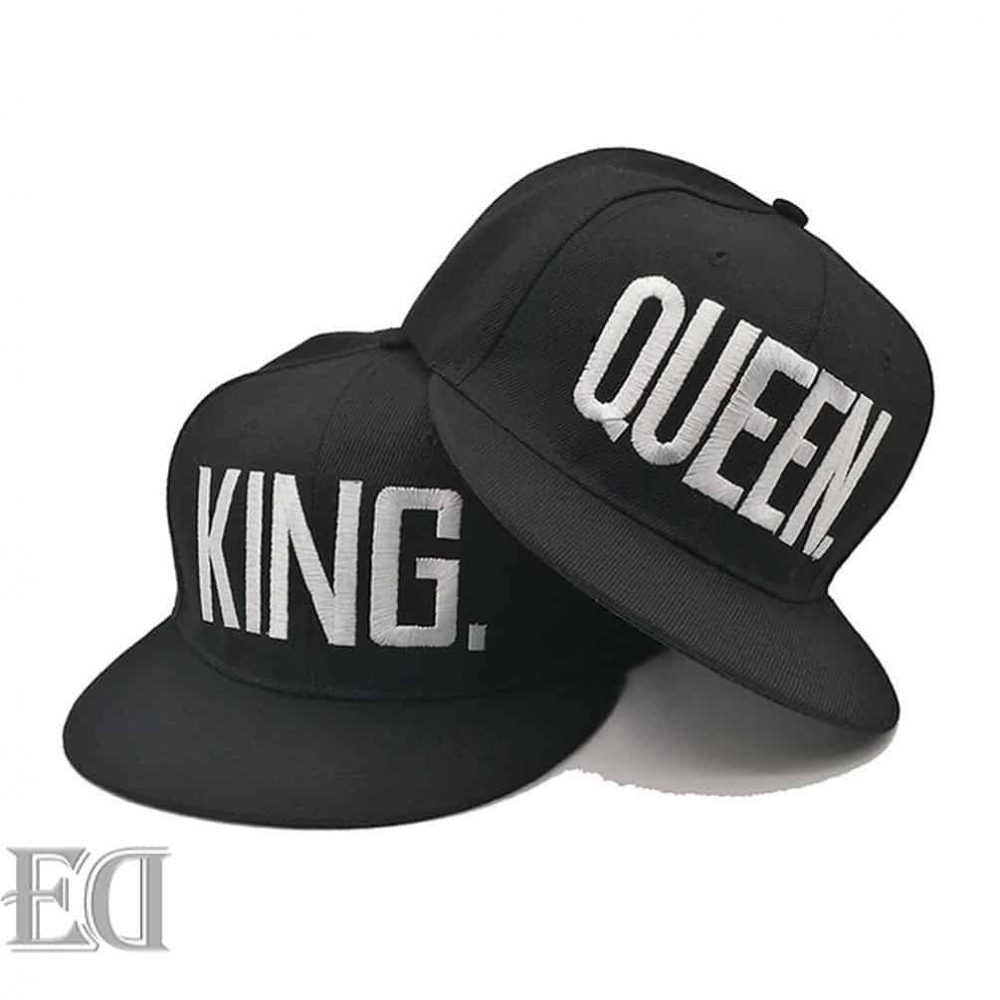 king queen hip hop hats