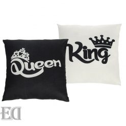 king queen pillows couples gifts