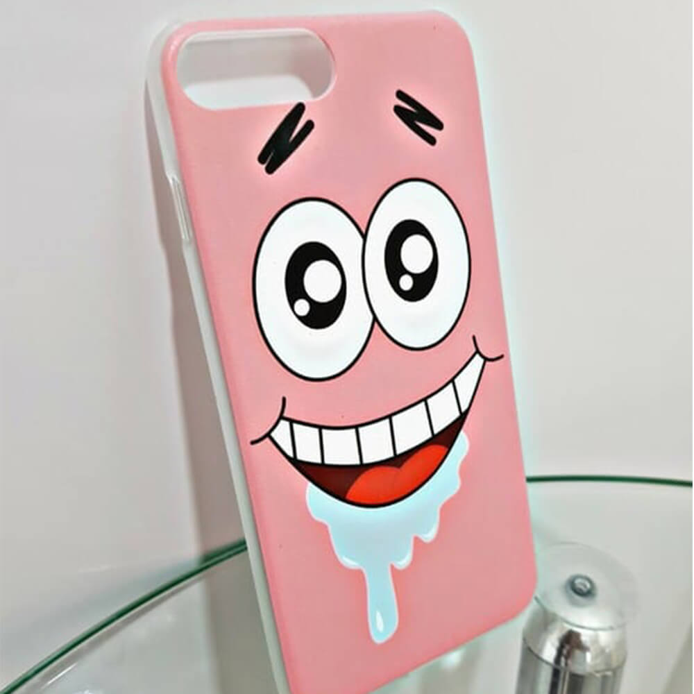 laughing patrick phone case-1