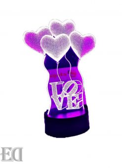 love ballons night lamp gift gadgets