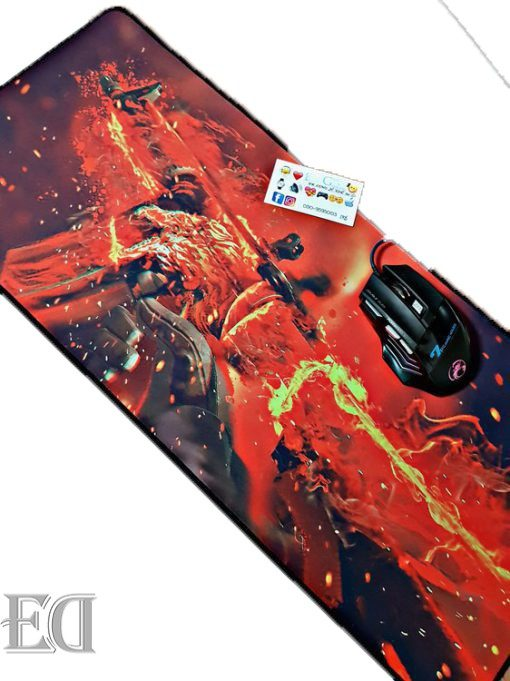 m4 flames gadgets mouse pad gamers