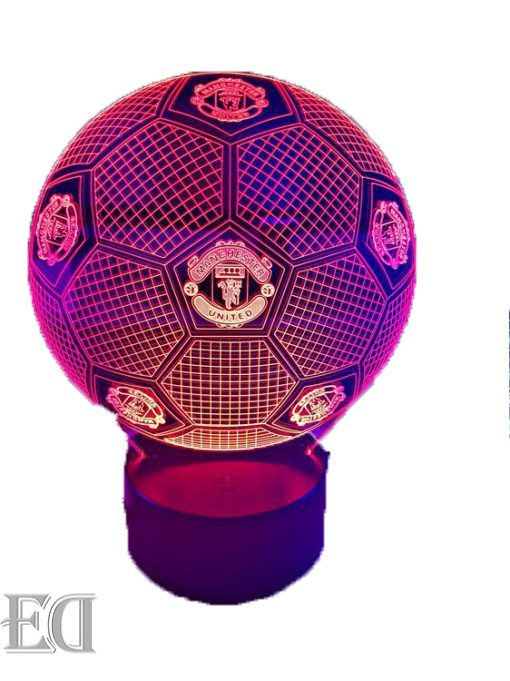 manchester united ball night lamp gift gadgets