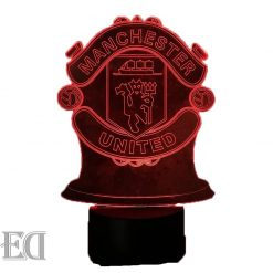 manchester united night lamp gift gadgets