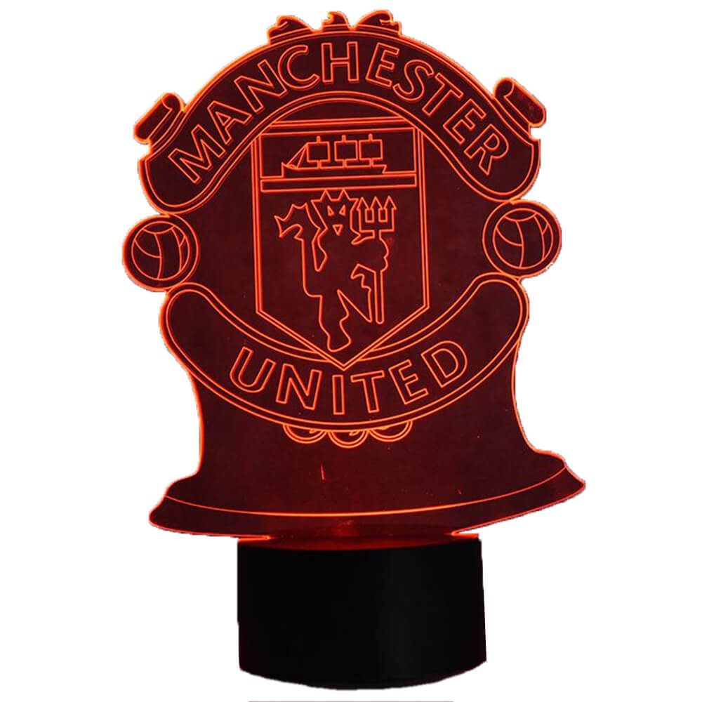 manchester united night light changing colors